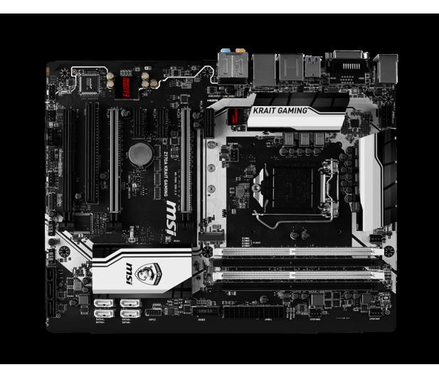 MSI Z170A KRAIT GAMING (Z170 3xPCI-E DDR4) - 255396 - zdjęcie 2