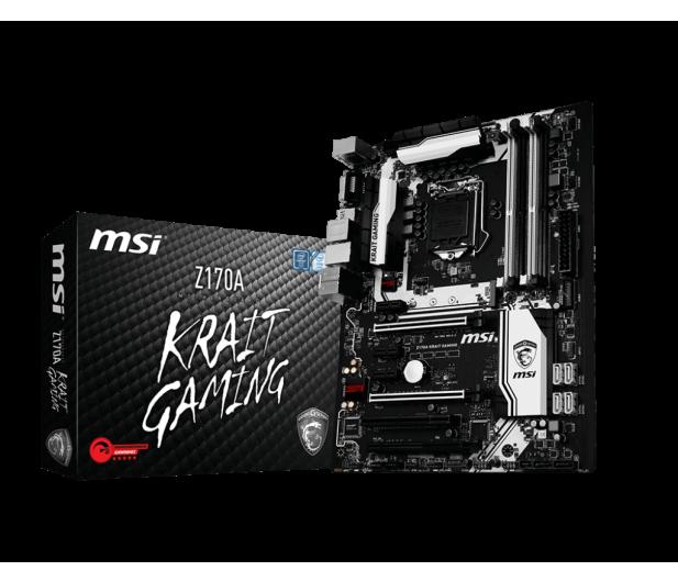 MSI Z170A KRAIT GAMING (Z170 3xPCI-E DDR4) - 255396 - zdjęcie
