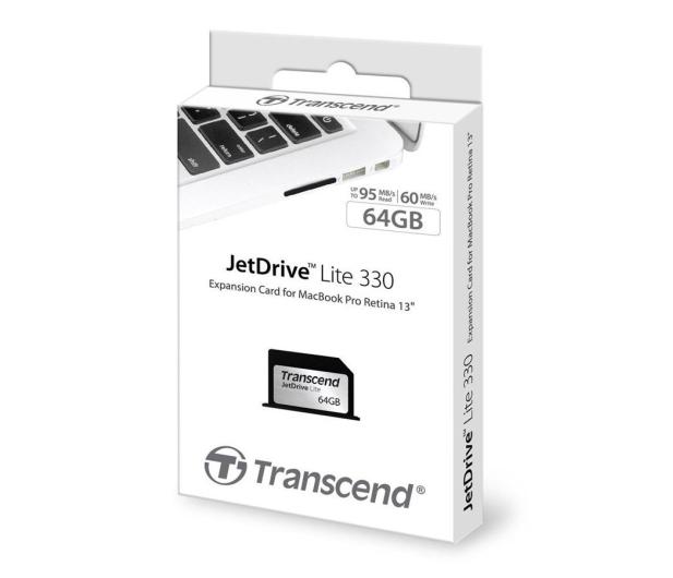 Transcend 64GB JetDrive Lite 330 MacBookPro Retina - 203353 - zdjęcie 4