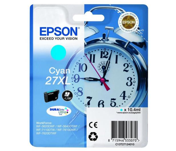Epson T2712 cyan 27XL 1100str. (C13T2712401)  - 247830 - zdjęcie