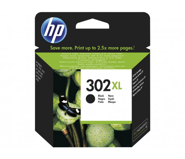 HP 302XL F6U68AE black 480str.  - 272334 - zdjęcie