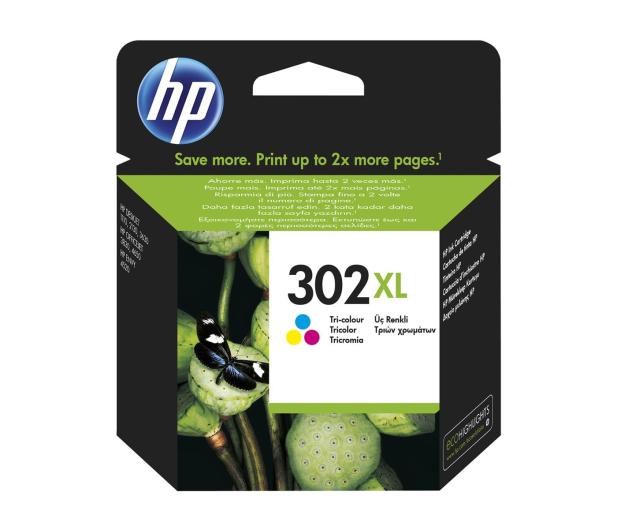 HP 302XL F6U67AE CMY color 330str. - 272335 - zdjęcie