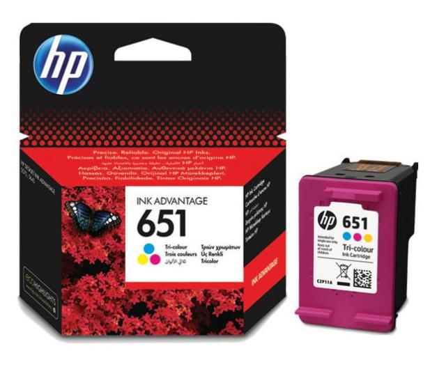 HP 651 CMY color 300str. - 272570 - zdjęcie
