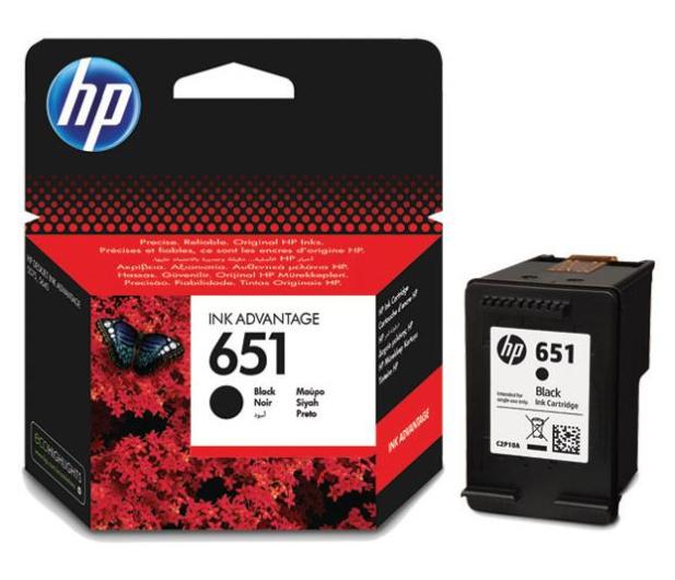 HP 651 black 600str. - 272569 - zdjęcie