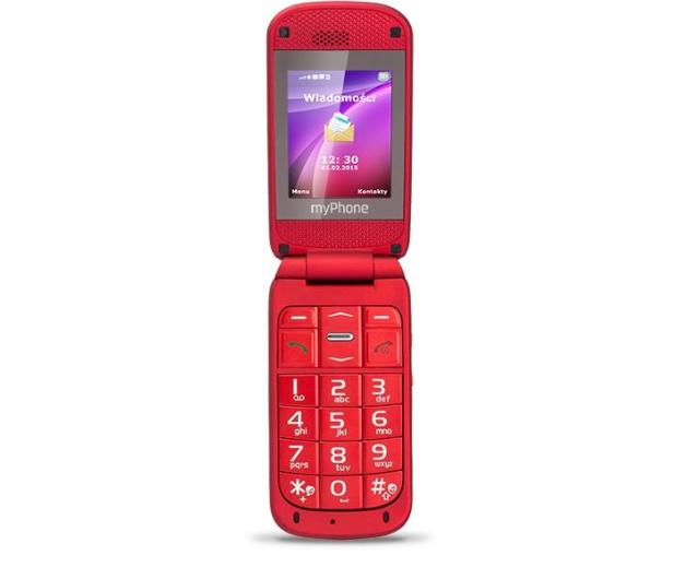 myPhone Metro 2G czerwony - 271053 - zdjęcie 2