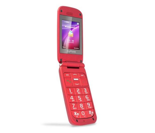 myPhone Metro 2G czerwony - 271053 - zdjęcie