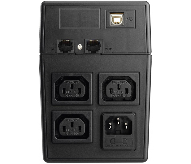 Power Walker VI 800 SW/IEC (800VA/480W, 3xIEC, USB, LCD, AVR) - 176706 - zdjęcie 4