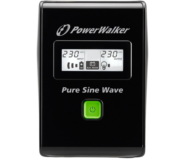 Power Walker VI 800 SW/IEC (800VA/480W, 3xIEC, USB, LCD, AVR) - 176706 - zdjęcie 2
