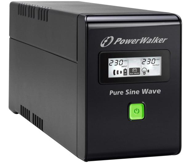 Power Walker VI 800 SW/IEC (800VA/480W, 3xIEC, USB, LCD, AVR) - 176706 - zdjęcie
