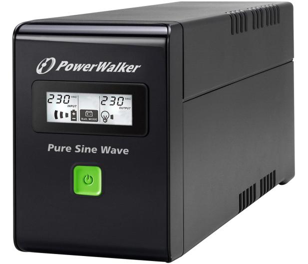 Power Walker VI 800 SW/IEC (800VA/480W, 3xIEC, USB, LCD, AVR) - 176706 - zdjęcie 3