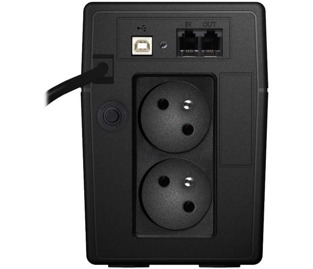 Power Walker VI 850 LCD (850VA/480W, 2xPL, USB, LCD, AVR) - 173991 - zdjęcie 4