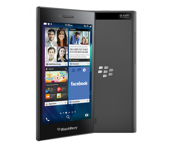 BlackBerry Leap 16GB LTE szary - 242904 - zdjęcie
