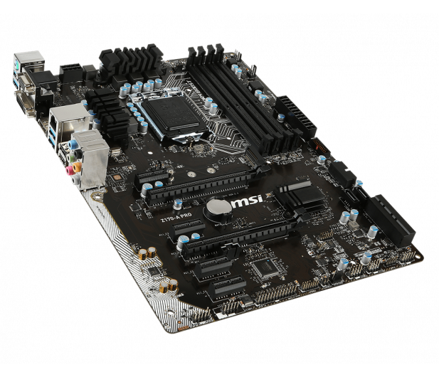 MSI Z170-A PRO (2xPCI-E DDR4) - 265665 - zdjęcie 3