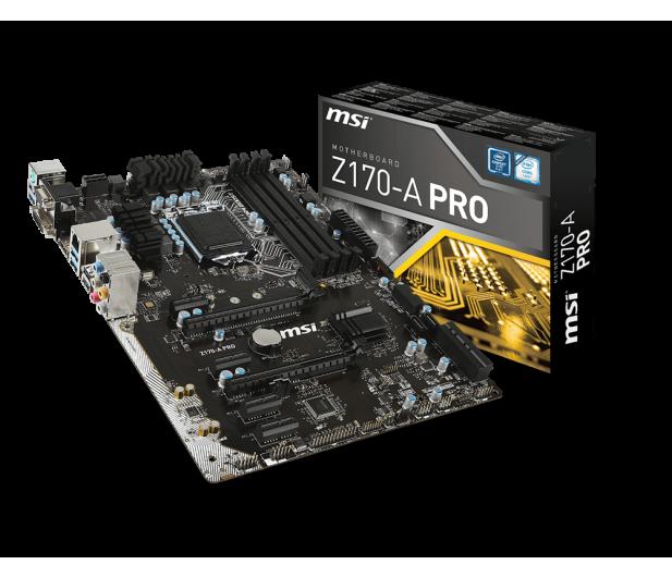 MSI Z170-A PRO (2xPCI-E DDR4) - 265665 - zdjęcie