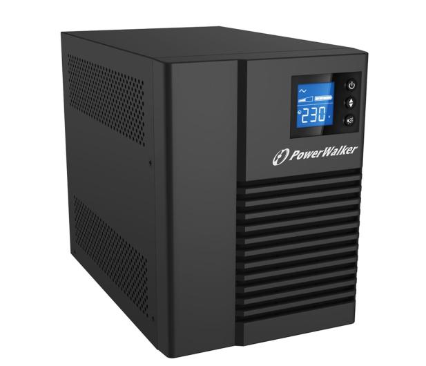 Power Walker VI 750 T/HID (750VA/500W, 4xIEC, USB, LCD, AVR) - 231455 - zdjęcie 3