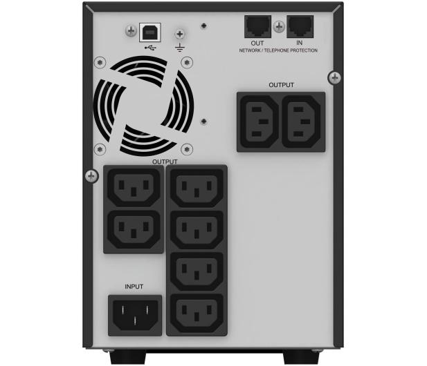 Power Walker VI 1500 T/HID (1500VA/900W, 8xIEC, USB, AVR, LCD) - 231457 - zdjęcie 4