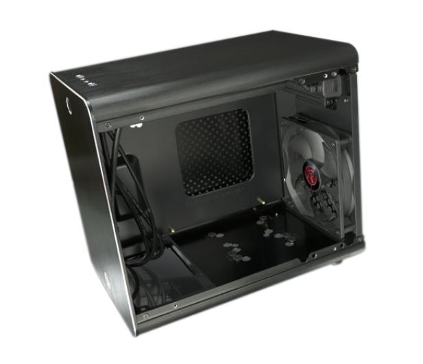 Raijintek METIS Mini-ITX czarna z oknem - 266457 - zdjęcie 2
