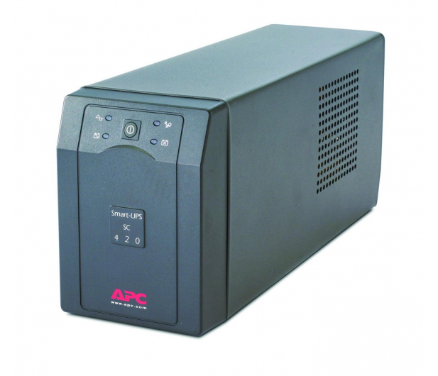 APC Smart-UPS SC (420VA/260W, 4xIEC, RJ-45, AVR) - 260384 - zdjęcie 3