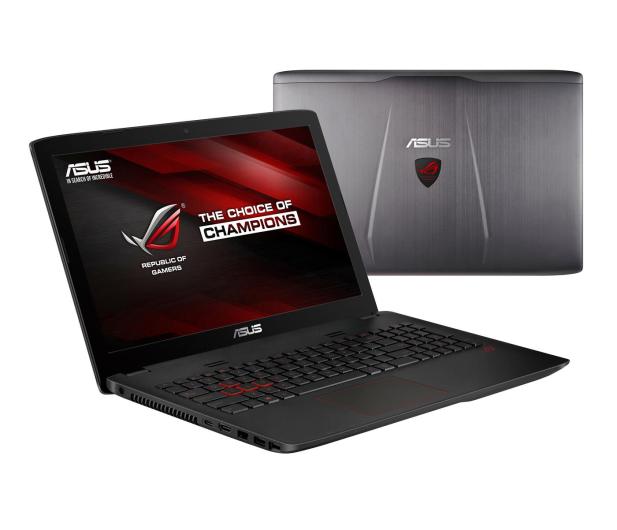 ASUS GL552VW-CN166T-8 i5-6300HQ/8GB/1TB/Win10X GTX960 - 268001 - zdjęcie