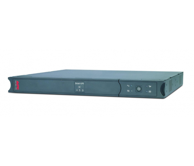 APC Smart-UPS SC (450VA/280W, 4xIEC, RJ-45, AVR - 1U) - 260379 - zdjęcie 3
