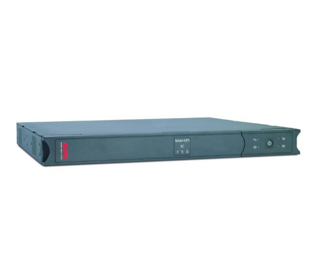 APC Smart-UPS SC (450VA/280W, 4xIEC, RJ-45, AVR - 1U) - 260379 - zdjęcie