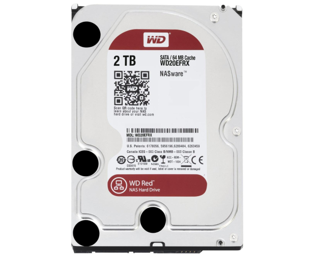 WD RED 2TB IntelliPower 64MB  - 103164 - zdjęcie