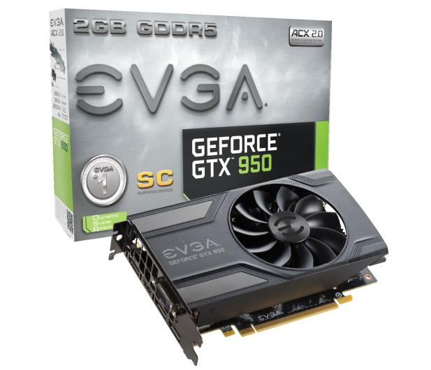 EVGA GeForce GTX950 2048MB 128bit SC GAMING - 274578 - zdjęcie
