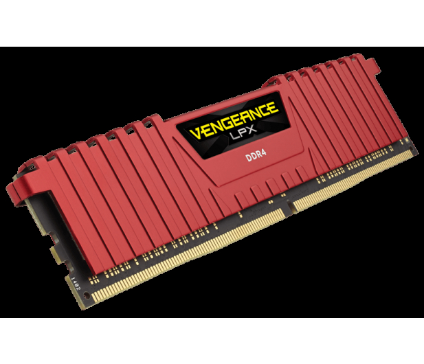Corsair 8GB 3000MHz Vengeance LPX Red CL15 (2x4GB) - 272414 - zdjęcie 3