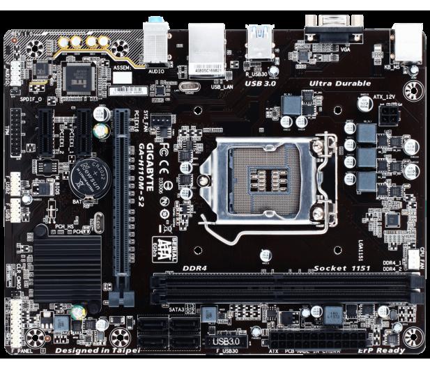 Gigabyte GA-H110M-S2 (PCI-E DDR4) - 277160 - zdjęcie 3