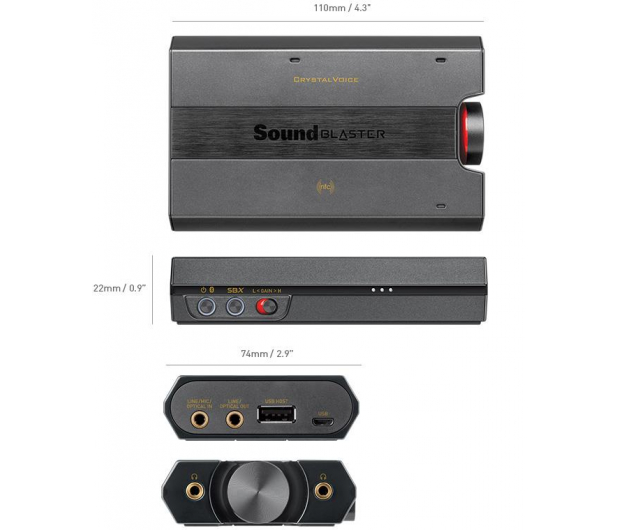 Creative Sound Blaster E5 - 269773 - zdjęcie 4
