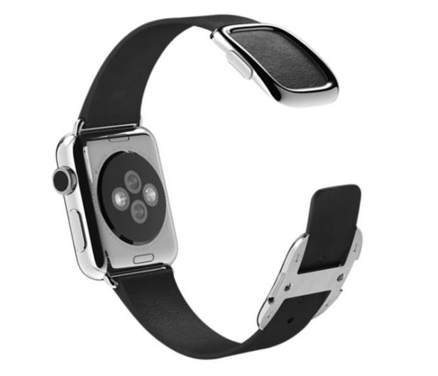 Apple Pasek Nowoczesna Klamra do koperty 38mm S czarny - 274024 - zdjęcie 2