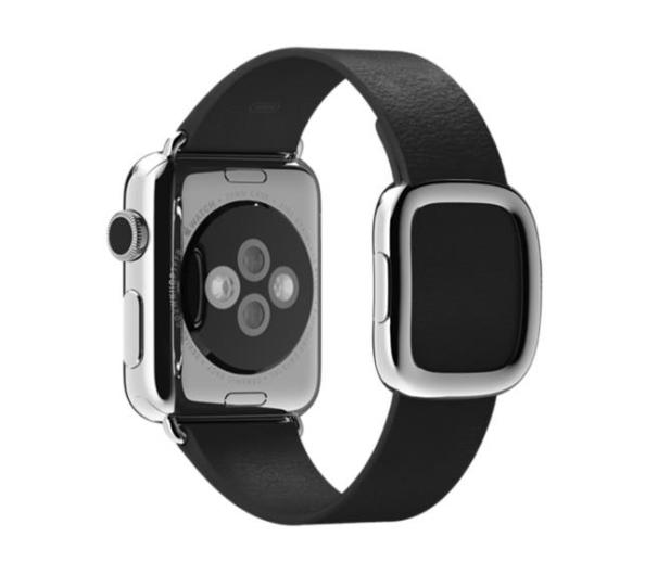 Apple Pasek Nowoczesna Klamra do koperty 38mm S czarny - 274024 - zdjęcie