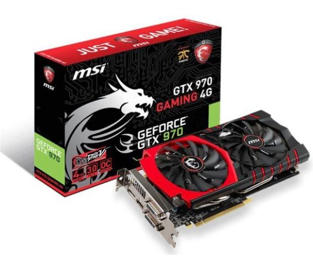 MSI GeForce GTX970 4096MB 256bit GAMING - 208790 - zdjęcie