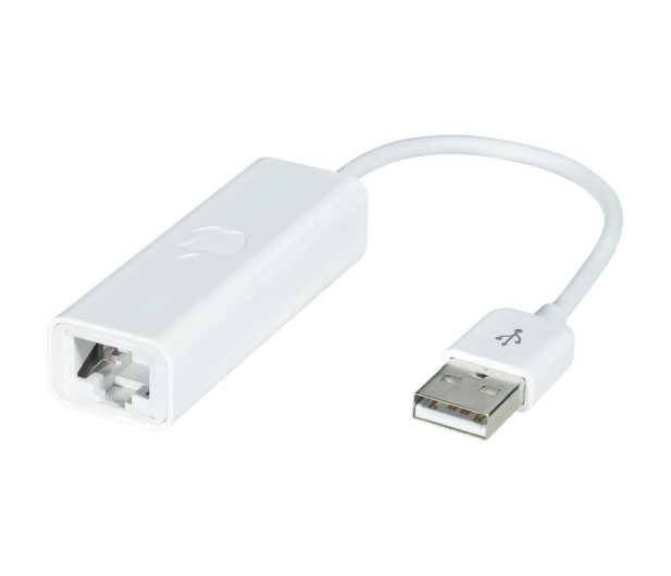 Apple Adapter USB 2.0 - Ethernet MacBook Air - 275686 - zdjęcie