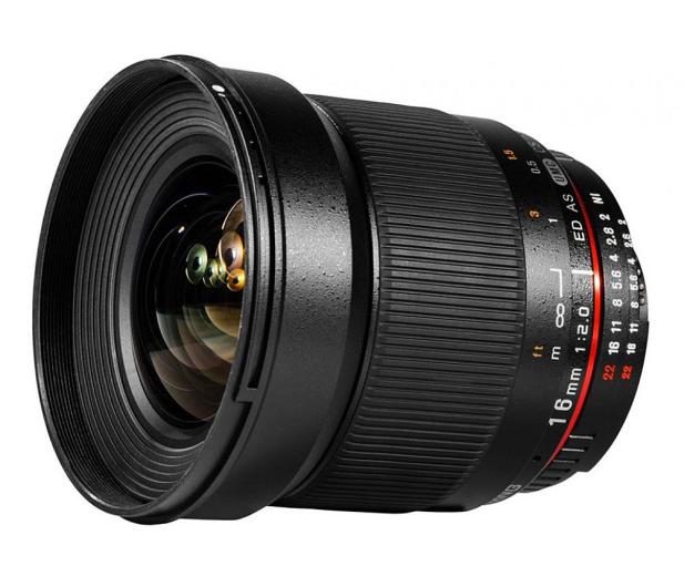 Samyang 16mm F2.0 ED AS UMC Canon - 220379 - zdjęcie