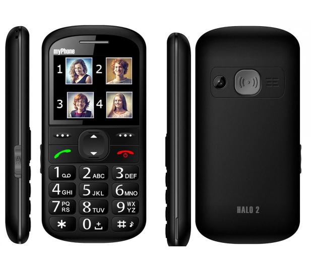 myPhone Halo 2 czarny - 220435 - zdjęcie 2
