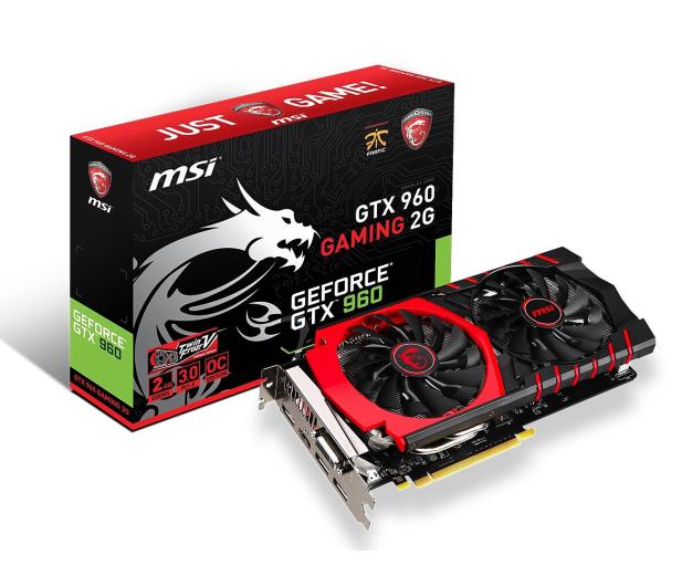 MSI GeForce GTX960 2048MB 128bit GAMING 2G - 221837 - zdjęcie