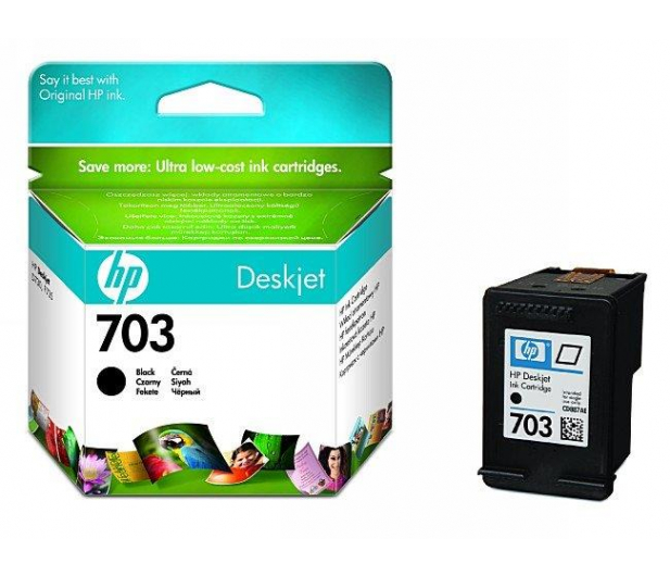 HP 703 CD887AE black 4ml - 43174 - zdjęcie