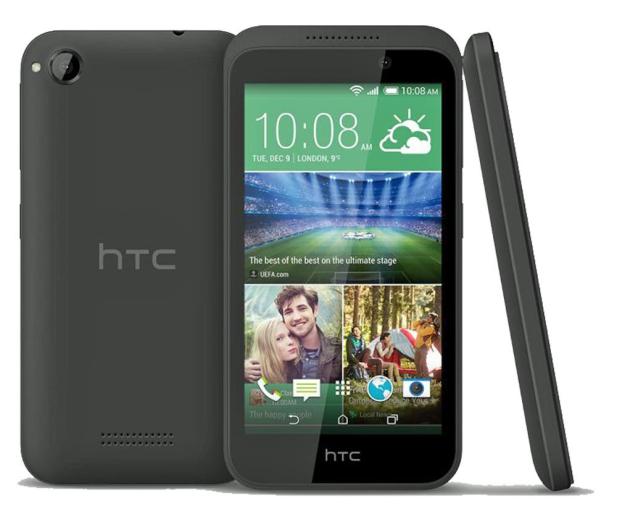 HTC Desire 320 szary - 222256 - zdjęcie