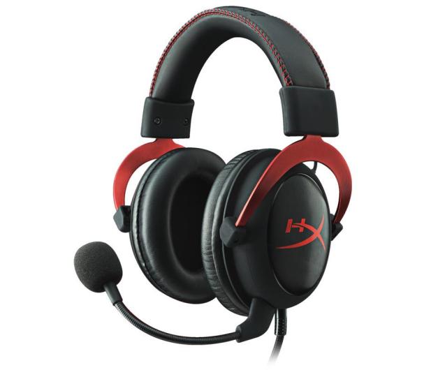 HyperX Cloud II Headset (czerwone) - 222526 - zdjęcie