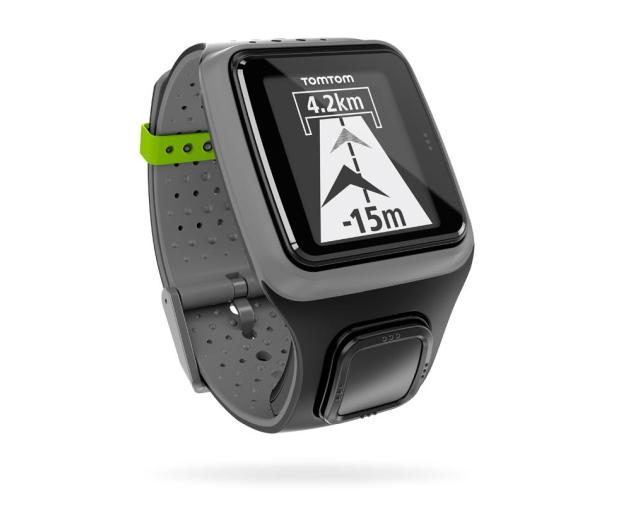 Zegarek TomTom Runner GPS z czujnikiem tętna Szary