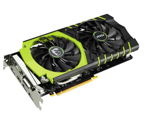 MSI GeForce GTX960 2048MB 128bit GAMING 100ME - 223644 - zdjęcie