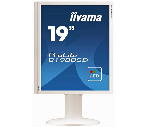 iiyama B1980SD biały - 225368 - zdjęcie 3