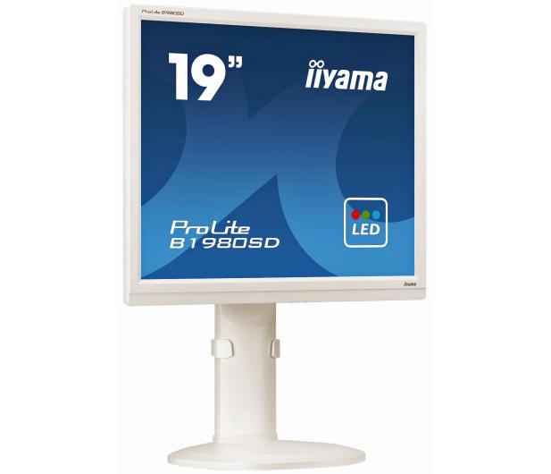 iiyama B1980SD biały - 225368 - zdjęcie 2
