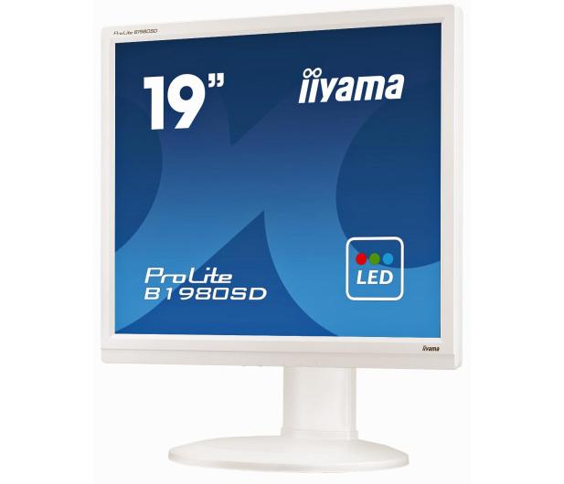 iiyama B1980SD biały - 225368 - zdjęcie 4