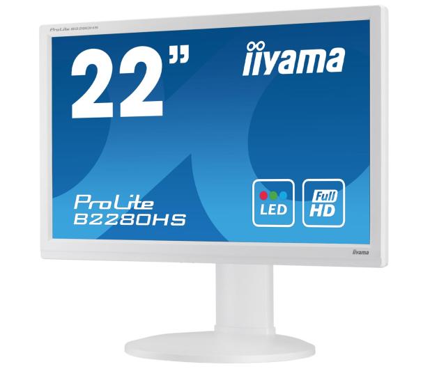 iiyama B2280HS biały - 225370 - zdjęcie 3