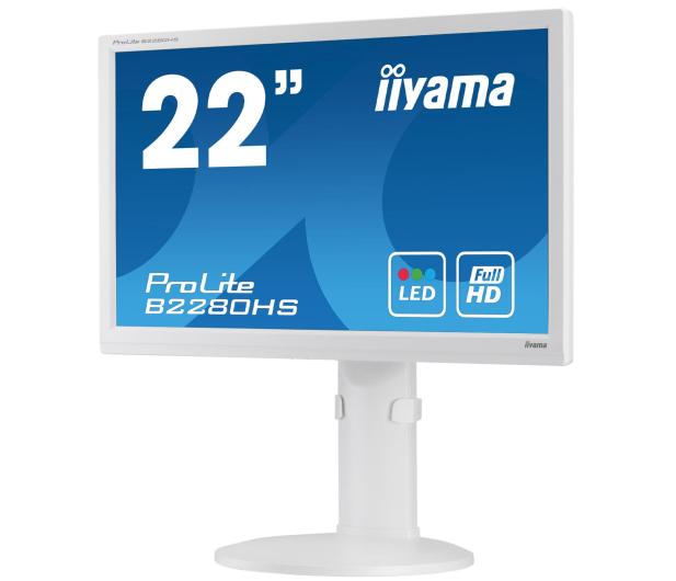 iiyama B2280HS biały - 225370 - zdjęcie 5