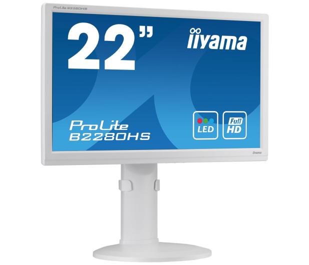 iiyama B2280HS biały - 225370 - zdjęcie 4