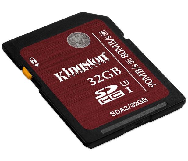Kingston 32GB SDHC UHS-I U3 90MB/s - 174000 - zdjęcie 2