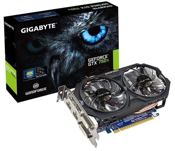 Gigabyte GeForce GTX750Ti 2048MB 128bit OC - 174900 - zdjęcie